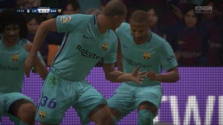 FIFA18c罗麦吉迪转身传射