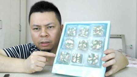 试吃台湾抹茶牛轧糖, 这口感会改变你对牛轧糖的认识