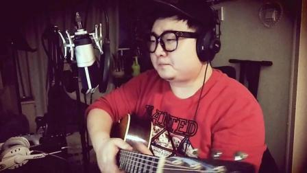 萧敬腾《新不了情》阳仔玩吉他cover 吉他弹唱