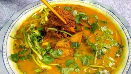 教你咖喱牛肉汤做法, 味鲜料足, 比外面卖的好吃多了!