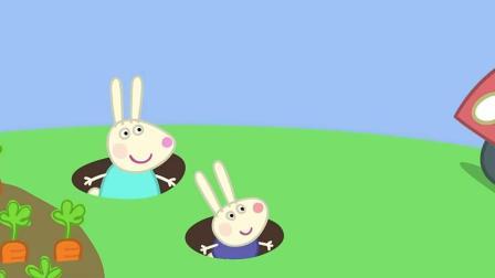 小猪佩奇: 乔治和佩奇去小兔家参观
