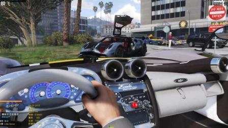 GTA5: 你见过这么帅的警用超跑吗?