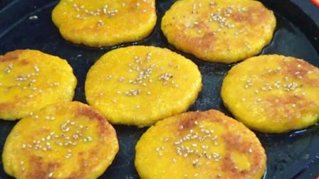 南瓜新吃法, 香甜软糯的南瓜饼, 最详细的做法步骤, 全家人都爱吃