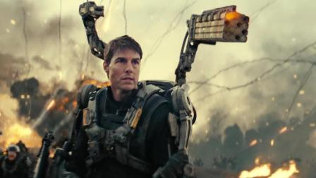外星生物能预知未来, 人类百万机甲部队全军覆没! 速看科幻电影《明日边缘》