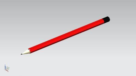 UG10.0绘制铅笔三维设计实例
