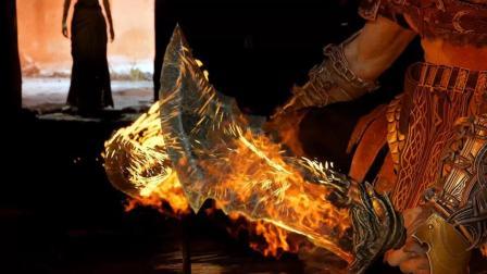 纯黑《战神4》最高难度无伤攻略解说 第七期