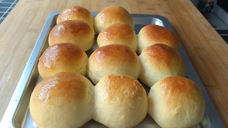 家庭版的蜂蜜小面包, 香甜美味, 不含任何添加剂, 做法超简单