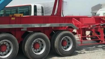 实拍: 改装版日本五十铃大货车
