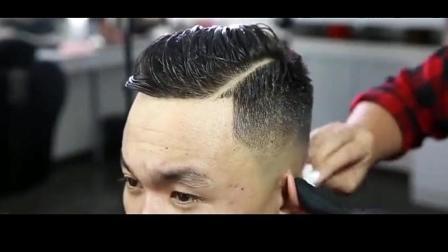 2018最流行的男士侧分发型, 路人变型男只需一款发型!