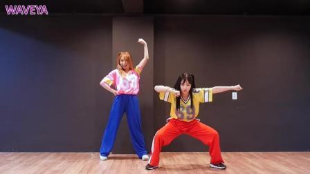韩国美女舞团  WAVEYA 实力翻跳 BTS《ANPANMAN》