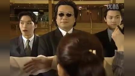 TVB跑龙套-胖老板旁边这个保镖认识吗? 是不是很青涩?