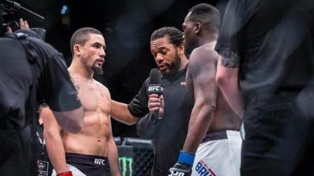 """UFC格斗之夜101: """"五星哥""""罗伯特维泰克尔VS德瑞克伯恩森""""九星"""""""
