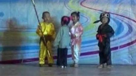 话剧三打白骨精靖西市七彩阳光幼儿园2018年六一大型文艺汇演 城东园中一班