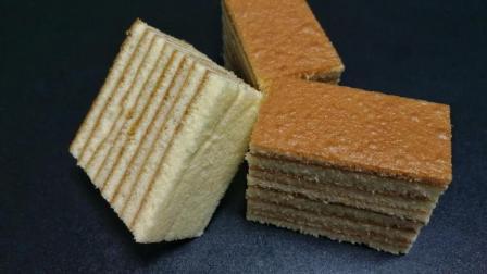 海绵千层蛋糕 , 口感绵软细腻, 制作过程也简单