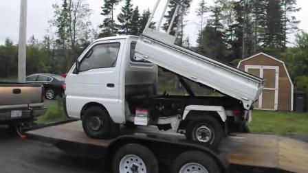 能拉砖能卸土方还是四驱的 这种实用的微型车在国内怎么见不到