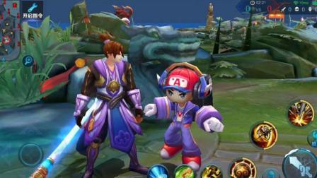 王者荣耀: 最适合过儿童节的英雄有哪些? 这3个小个子超萌!