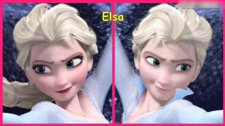 冰雪公主艾莎原来可以这么帅, 迪士尼经典角色性别大转换