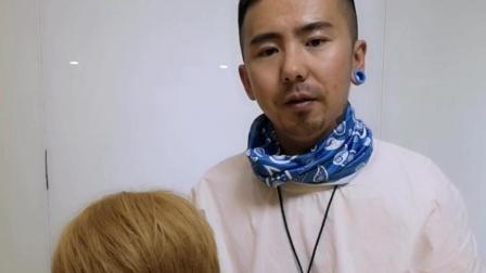 利用回剪剪发技巧增加头发蓬松效果, 鑫米大神美发教学!