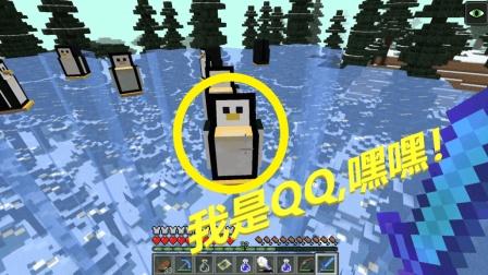 我的世界: 来到冰天雪地之中, 找到一群QQ!