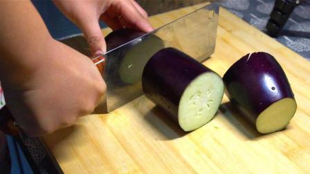 茄子不要炒着吃了, 教你新做法, 简单不油腻, 很多人都喜欢吃