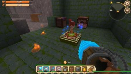 迷你世界: 水下找到连环地牢! 看守者是书童和酋长夫人