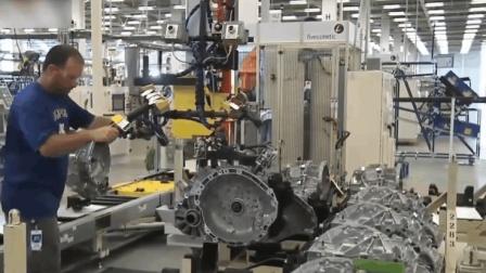 实拍德国制造汽车变速箱的过程, 比想象中的还要先进