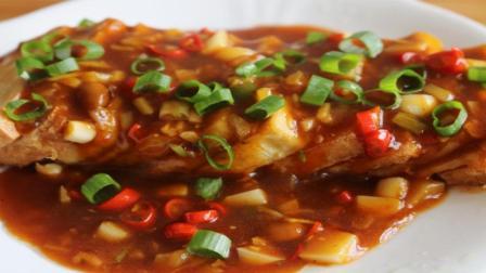豆腐刚出的新吃法, 拿红烧肉都不换, 一出锅就抢光了, 做法超简单
