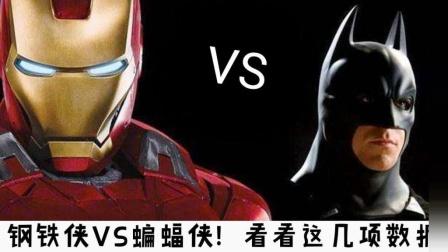 钢铁侠VS蝙蝠侠! 同为人气顶尖的超级英雄, 没有对比就没有伤害