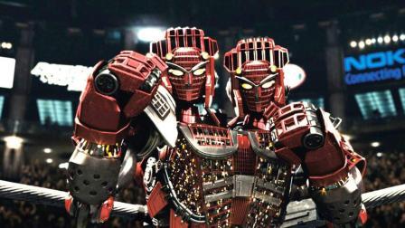 人类拳击被禁止, 机器人登上擂台, 连小孩也能参加比赛! 速看科幻电影《铁甲钢拳》
