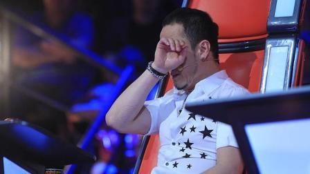 他一首原创歌曲遭3位导师争抢, 选择汪峰后杨坤那英痛哭流涕!