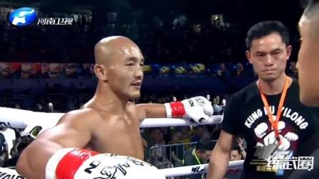 刚刚, 一龙竟再次被对手高扫KO!