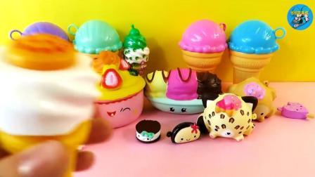 橡皮泥制作, 奶油蛋糕, 巧克力蛋糕, 冰激凌, 儿童玩具, 悠悠玩具城