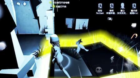 第五人格: 祭司配合能透视全图的盲女, 地图太黑爬进地窖逃出生天