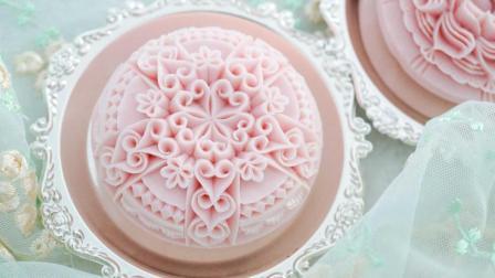 香皂雕刻教程 心心相印蕾丝图案