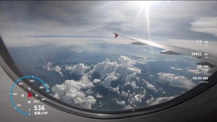 机上空拍带速度高度数据