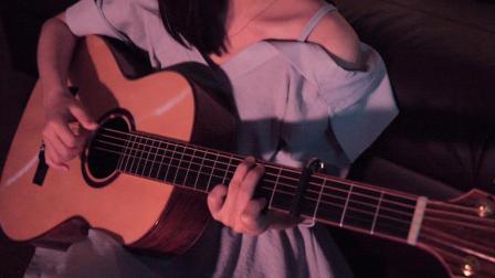 第三人称 hush 吉他翻唱