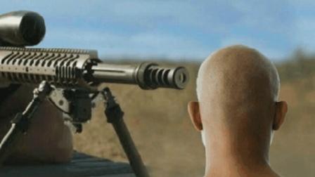 狙击枪爆头有多恐怖? 用仿真人头试一试, 你就知道了