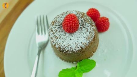 爆浆巧克力熔岩蛋糕, 超级无敌简单