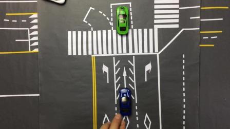 交通解说: 直行待转区这样走, 过线也算闯红灯