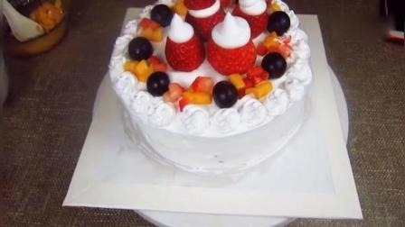 没有烤箱一样能做出又好吃又漂亮的《生日蛋糕》, 只需要一口蒸锅!