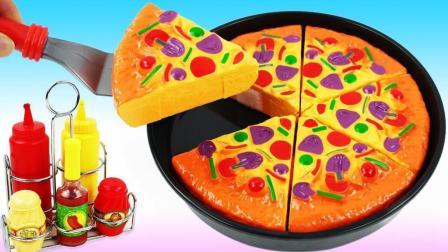 培乐多魔力变身Pizza比萨面饼? 创意DIY新玩法, 视频教程送给你!