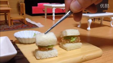 美食推荐: 美味炸猪肉三明治做法, 不输早点店妈妈早上必备