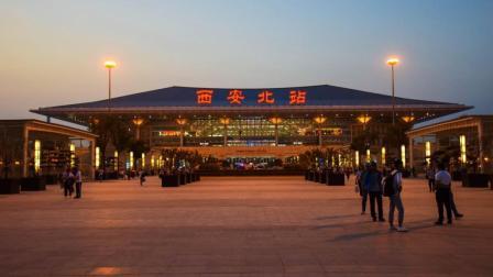 西成高铁初体验(CRH380B D6874 汉中-西安北)