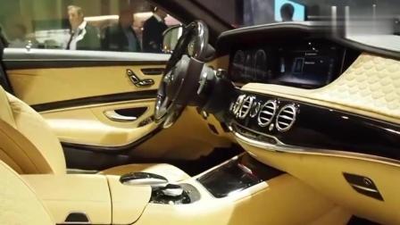 价值1280万的奔驰巴博斯900亮相, 德国制造就是颜值高实力强!