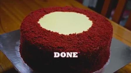 浪漫高贵和奢华于一身, 美味的红丝绒蛋糕