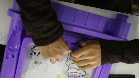 必乐BL101【画板抽出隔垫】厨房过家家儿童切水果蔬菜切切乐玩具蛋糕仿真厨房组合套装