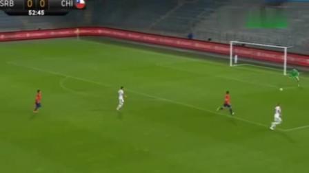 马里潘头球绝杀 塞尔维亚0-1智利