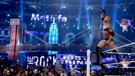 wwe2011摔跤狂热大赛 WWE 摔跤狂热大赛 巨石强森惨被羞辱 隆达罗西为巨石强森站台