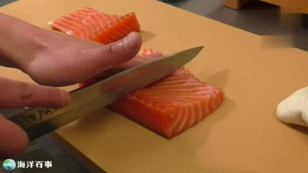 手作三文鱼寿司, 流着口水看完了!