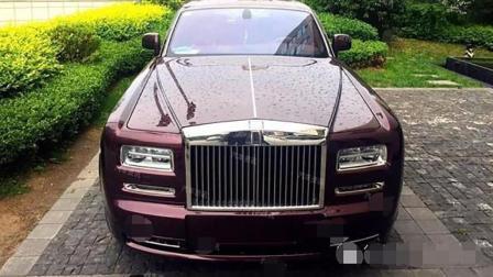 土豪1900万买国内唯一劳斯莱斯, 看车内被人大笑乡土气息浓厚